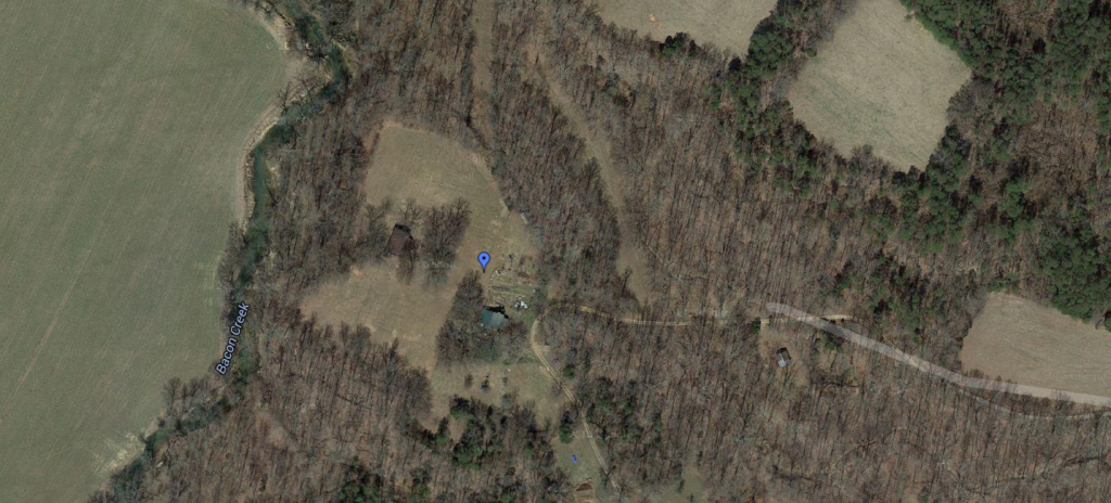A satellite view of my farm.